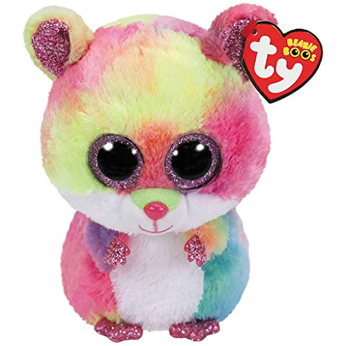 Claire/'s Ty Beanies Girl/'s Ty Beanie Boo Small Buff The Husky Dog Plush Toy