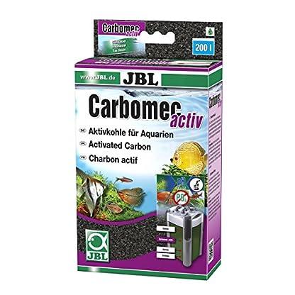 JBL Hochleistungs-Aktivkohle für Aquarienfilter, Carbomec