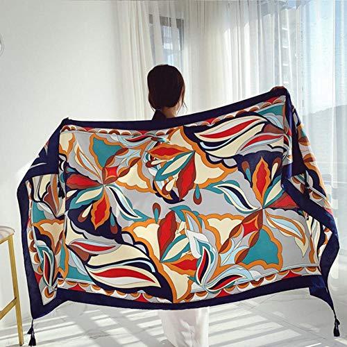 Mnbvcxzey Serviette de Plage Vacances Soleil Protection Style Ethnique Polyester Imprimé Mode Tassel Design Summer Outdoor 5