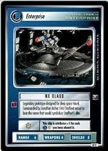 Decipher Star Trek CCG 1E Enterprise Collection FOIL Enterprise 57P