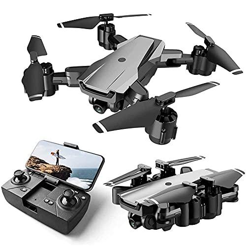 DCLINA Drone con Fotocamera 4K HD 5G WiFi FPV Drone con Trasmissione in Tempo Reale Quadcopter Pieghevole con Mantenimento dell'altitudine per Bambini, Adulti e Principianti