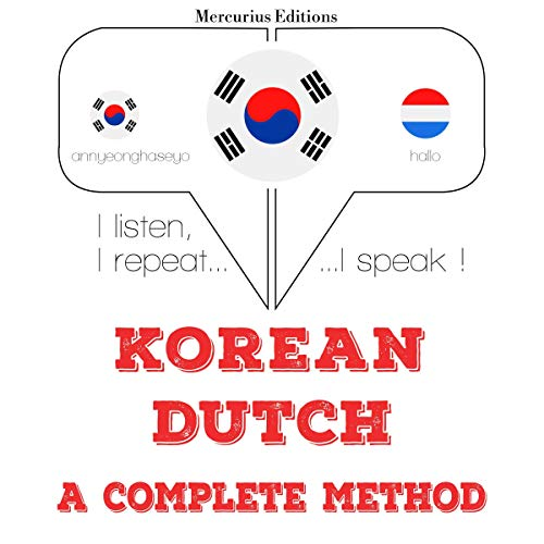 Korean – Dutch. A complete method cover art