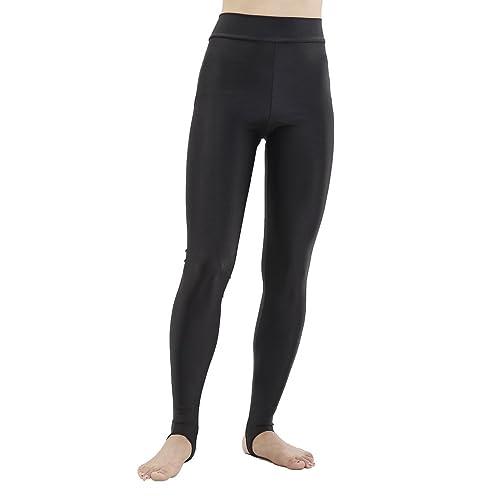 0d8fddaa01300b speerise Womens High Waist Foot Stirrup Sports Leggings Tights Yoga Pants