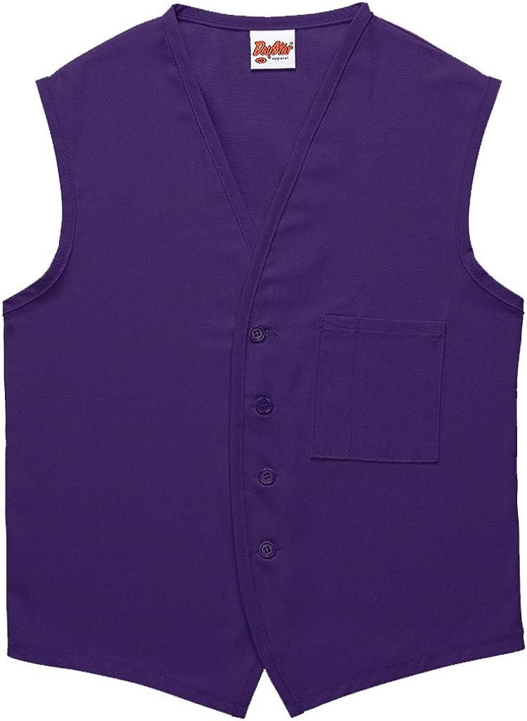 DayStar Apparel 740 One Pocket Button Unisex Vest (12 Pack)