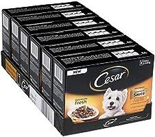 Cesar Deliciously Fresh Våtfoder för Hundar, 48 x 100g