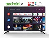 United 32' Pouces Android 9.0 Smart TV 80cm HD LED Tlviseur (Google Assistant, Google Play Store, Prime Video, Netflix) Chromecast intgr, Triple Tuner, WiFi, Bluetooth [Classe nergtique A]