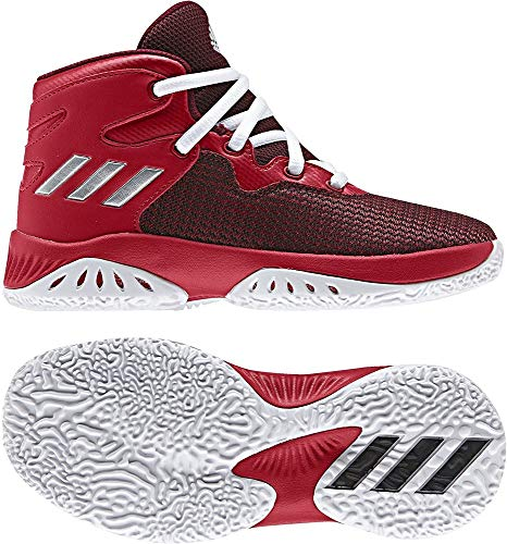 adidas Explosive Bounce C, Zapatillas de Deporte Unisex niños, Rojo (Escarl/Plamet/Rojbas), 32 EU