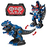 Funlittletoy Remote Control Dinosaur with Sound and Light,...