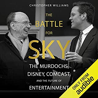The Battle for Sky audiobook cover art
