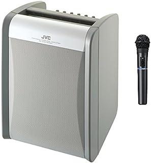 JVCケンウッド ポータブルワイヤレスアンプ(CD+シングルチューナー+マイク) PE-W51SCDB-M
