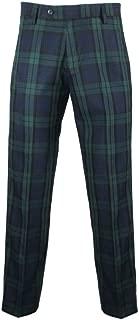 Mens Traditional Scottish Tartan Golf Trousers
