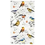 100 Bird Guest Napkins 3 Ply Disposable Paper Pack Colorful Birds Dinner Hand Napkin for Bathroom Powder Room Wedding Anniversary Holiday Birthday Spring Tea Party Bridal Baby Shower Decorative Towels