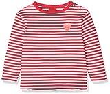 s.Oliver Baby-Mädchen 65.908.31.7495 Langarmshirt, Rot (Red Knitted Stripes 34g4), (Herstellergröße: 86)