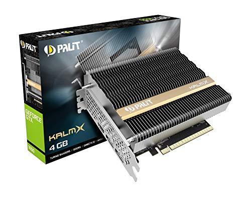 Palit GeForce GTX 1650 KalmX 4GB GDDR5 Grafikkarte passiv 2xDP/HDMI