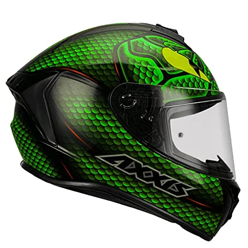 Casco de Moto Integral Axxis Mahesa Verde Mate (M)