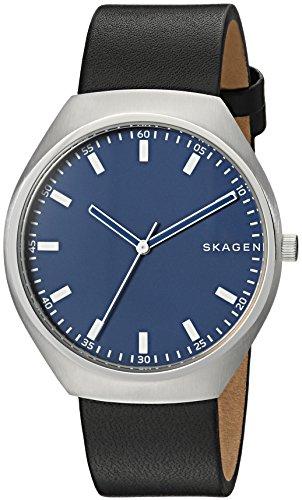 Skagen Herren Quarz Uhr mit Leder Armband SKW6385