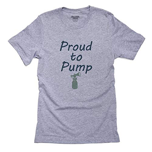 Proud to Pump - Breast Milk & Breastfeeding Support Men's T-Shirt
