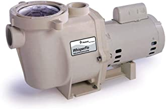 Pentair 011774 WhisperFlo High Performance Standard Efficiency Single Speed Up Rated Pool Pump, 2 Horsepower, 115/230 Volt, 1 Phase