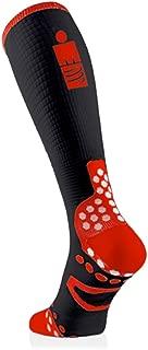 Full Socks V2.1 Ultralight Ironman Edition mdot – En Triathlon Marathon – Calcetines de compresión Running Medias
