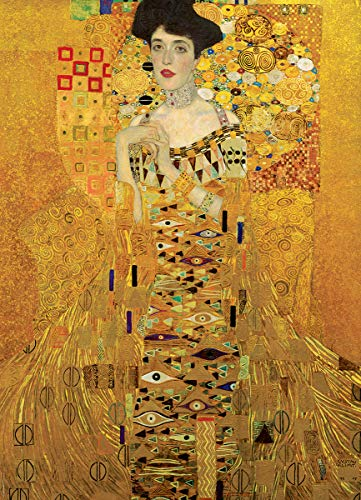 EuroGraphics Portrait of Adele Bloch Bauer by Gustav Klimt 1000 Piece Puzzle (6000-9947)