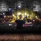 YUANJUN Gerahmte DJ Martin Garrix Live-Konzert Poster