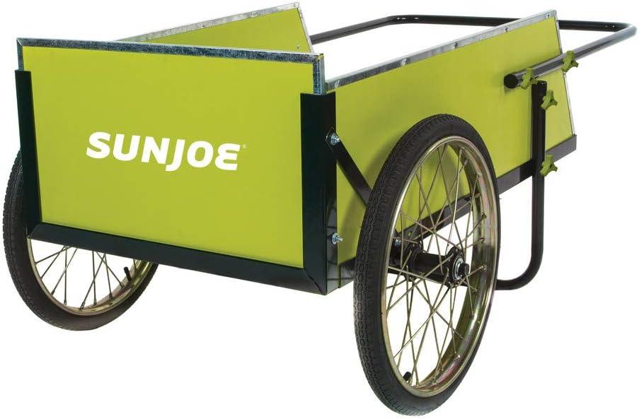 Sun Joe SJGC7 Gorgeous 7 Cubic Foot Heavy Utility Gre + Cart Duty Brand new Garden