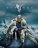 Liah FineArts Vikings Season 6 35cm x 43cm Silk Poster Dormitorio o la Sala de Estar o la decoracin del Aula
