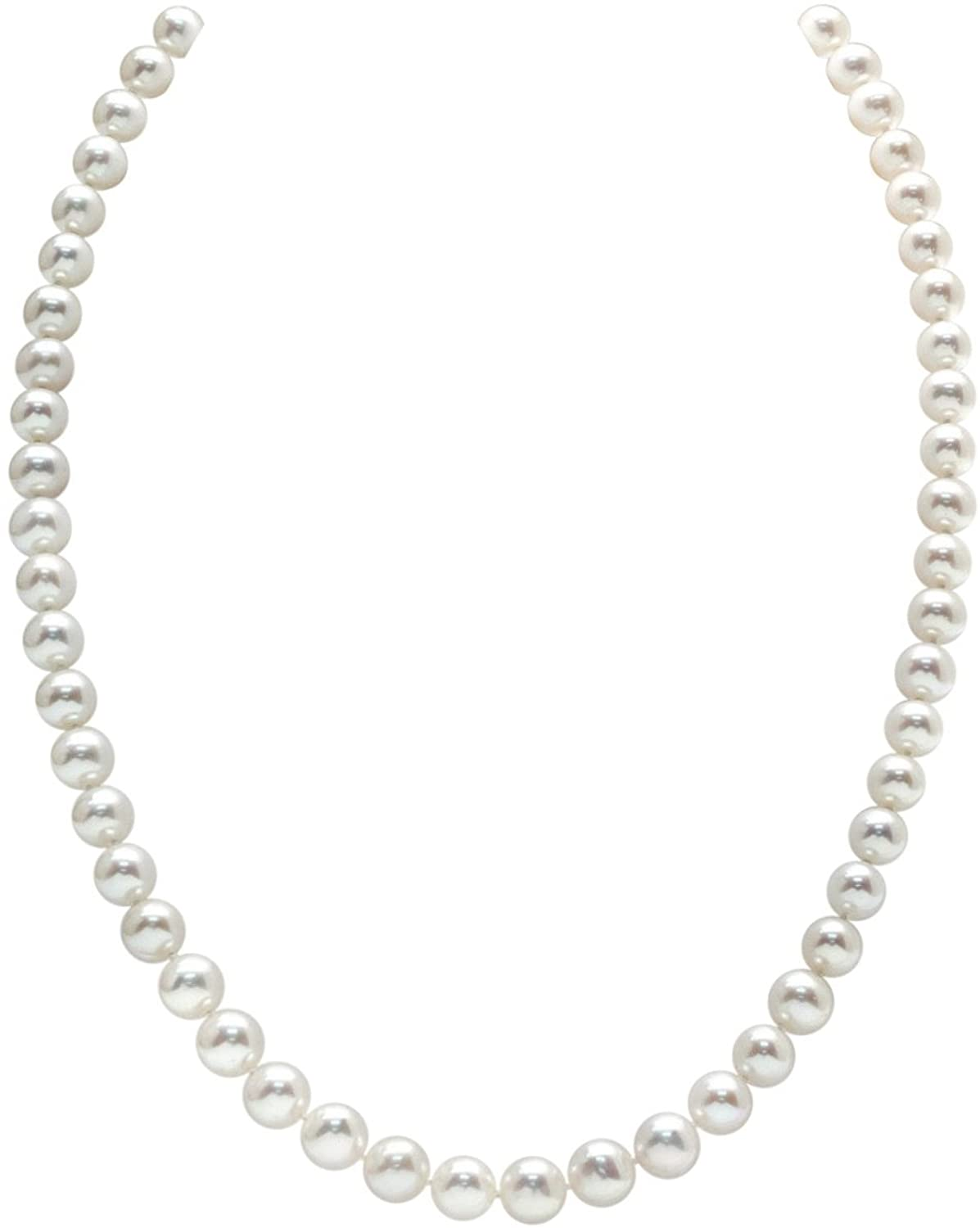 THE PEARL SOURCE 14K Gold 6.5-7.0mm Quality Round White AAAA Fre Ranking TOP20 Excellent