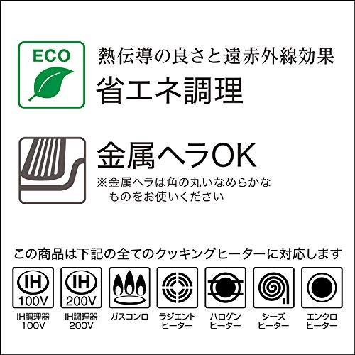 京セラフライパンセラミック塗膜加工フッ素樹脂加工26cmIH対応NEWセラフォートKyoceraCFF-26A-BRD