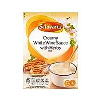 クリーミーな白ワインとハーブ26グラムの上に注ぎます (Schwartz) (x 6) - Schwartz Pour Over Creamy White Wine and Herbs 26g (Pack of 6)