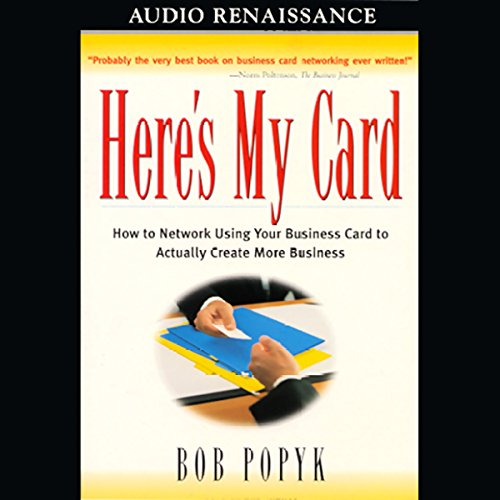 Here's My Card audiobook cover art