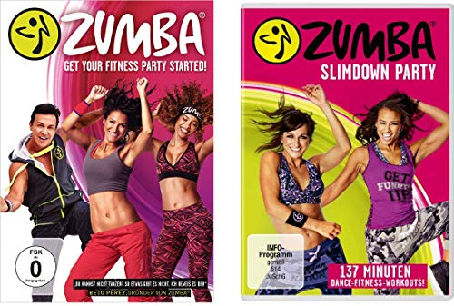 Zumba + Zumba Slimdown Party im Set - Deutsche Originalware [2 DVDs]
