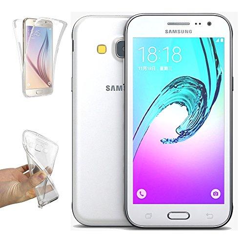 REY Funda Carcasa Gel Transparente Doble 360º para Samsung