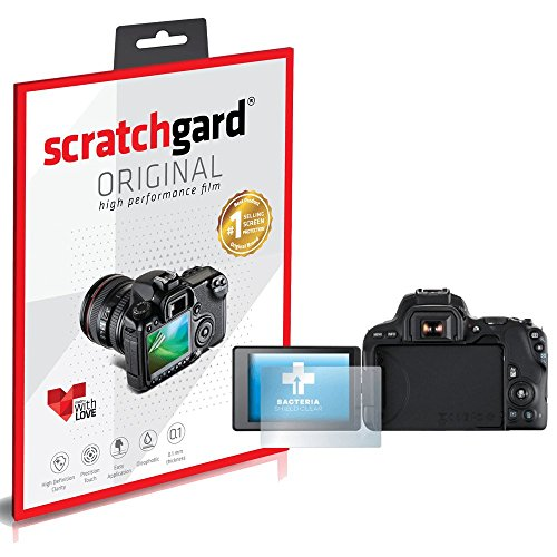 Scratchgard Anti-Bubble and Anti-Fingerprint Screen Protector for Canon EOS 200D