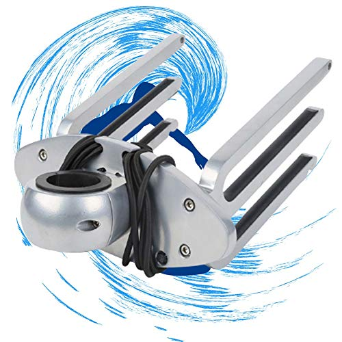 ZPCSAWA Wakeboard Rack, Torres de Wakeboarding, Horizontal to Vertical Angle-Free Installable, with Shinning Polished Surface