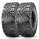 OBOR Brawler Radial Tires 28x10-14, 10 Ply Front/Rear Radial Tires for UTV SxS   DOT Standards UTV Professional Tires(Tubeless, 2 Pack)
