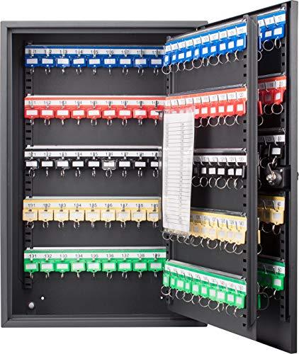 BARSKA CB13266 Combination Lock 200 Position Adjustable Key Cabinet Lock Box Black ,5.5x14.75x21.75