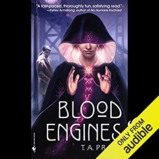 Blood Engines audiobook cover art