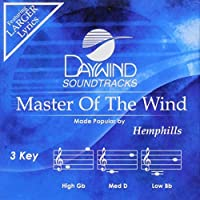 Master Of The Wind (3 Key) [Accompaniment/Performance Track] by Hemphills