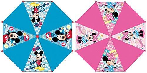 Disney - 3621 - Parapluie - Enfant Minnie / Mickey - Automatique - Modèle aléatoire