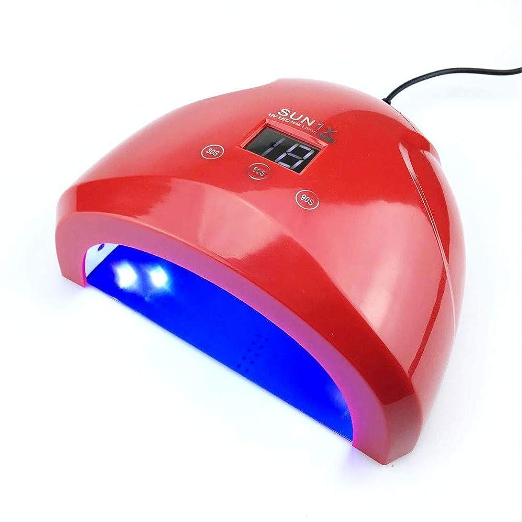スローガンモバイル典型的なネイルドライヤー36ワットuvランプledランプネイルドライヤースマートセンサーダブル電源ネイルランプ用ネイルuvジェルポリッシュジェルネイルアートツール