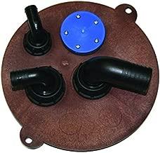 Nuova Rade /Ø12-38mm Wasserfilter mit Siebfilter K/ühlwasser Seewasserfilter