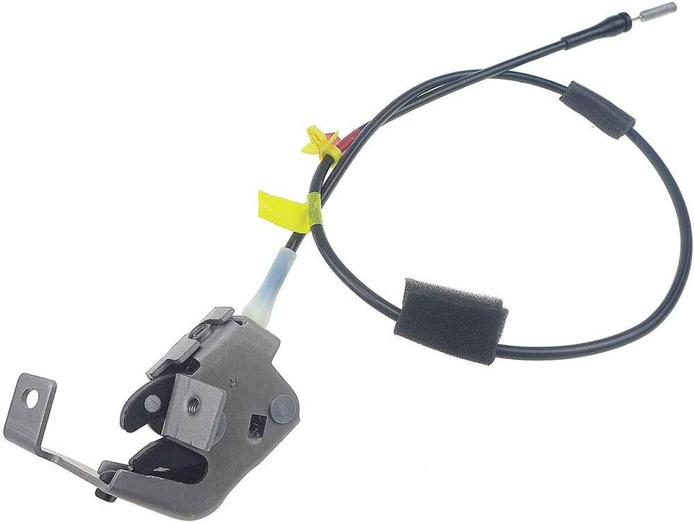 sportuli Left Side Rear Upper Door Latch with Cable Replacement for 1997-2004 F250 F150 Heritage Extended Cab Pickup 4.2L 4.6L 5.4L V6 V8 Engines Left Side Rear Upper Door Latch