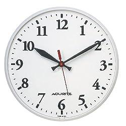 AcuRite 1960 12.5-Inch Indoor or Outdoor Clock
