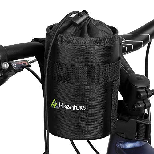 HIKENTURE Lenkertasche Fahrrad für Trinkflasche, Isolierte Fahrradtasche mit Flaschenhalter, Kühltasche Thermotasche Flaschentasche für Wasserflasche, Trinkflaschenhalter am Lenker-1