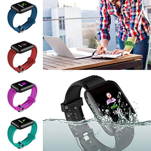 Feriay Waterproof Bluetooth Sports Smart Wristband Bracelet Fitness Tracker Smart Watches