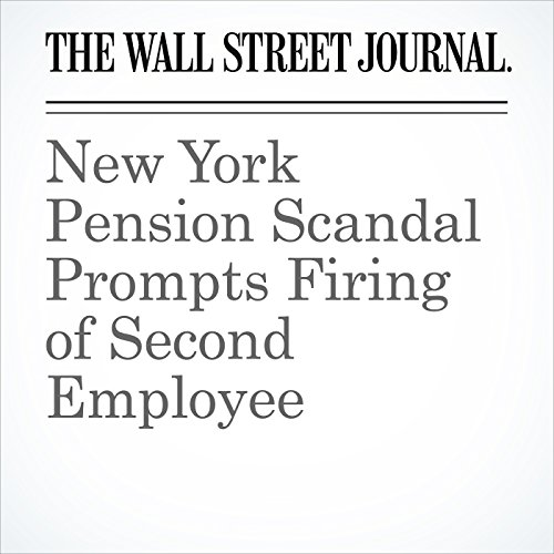 New York Pension Scandal Prompts Firing of Second Employee copertina