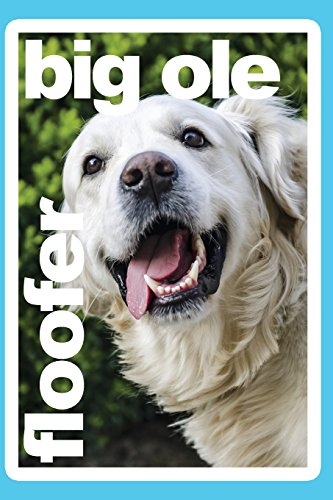 Big Ole Floofer Golden Retriever Daily Journal Notebook College Ruled 100 Pages: 6