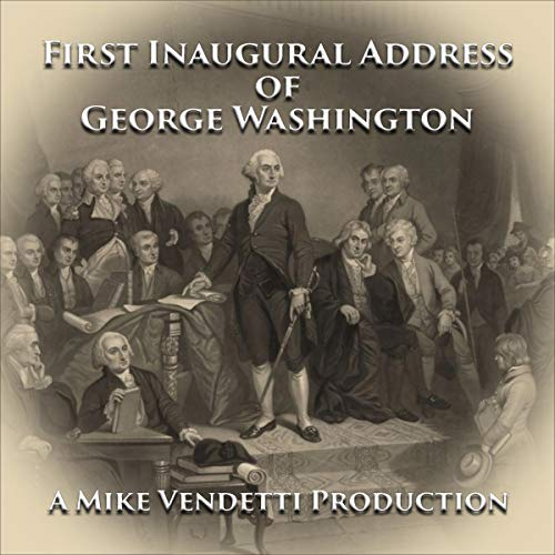 『First Inaugural Address of George Washington』のカバーアート