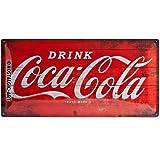 Nostalgic Art Logo Red, Geschenk-Idee für Coca-Cola Fans,